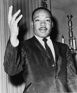 Dr. Martin Luther King, Jr. (Image used under Wikimedia Commons License.)